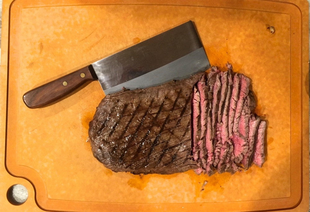 cut steak
